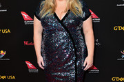 Rebel Wilson Wrap Dress