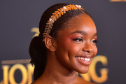 Marsai Martin Long Braided Hairstyle