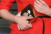 Haley Bennett Printed Clutch