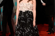Keira Knightley Strapless Dress