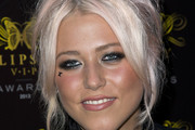 Amelia Lily Messy Updo