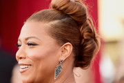 Queen Latifah Loose Bun