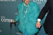 Iris Apfel Fur Coat
