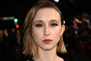 Taissa Farmiga Short Side Part