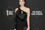 Lucy Hale One-Shoulder Top