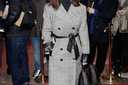 Hayley Atwell Printed Coat
