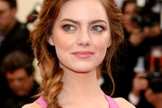 Emma Stone Loose Braid