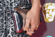 Naomie Harris Metallic Clutch