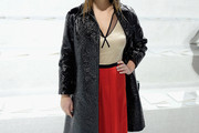 Odeya Rush Leather Coat