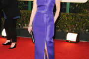 Laura Linney One Shoulder Dress