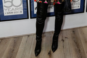 Ashlee Simpson Over the Knee Boots
