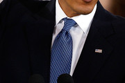 Barack Obama Geometric Tie