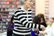 Sharon Stone Crewneck Sweater