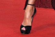 Gemma Arterton Peep Toe Pumps