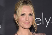 Molly Sims Messy Updo