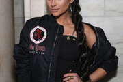 Shay Mitchell Long Braided Hairstyle