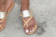Jessica White Slide Sandals Are The Summer Footwear Trend We Can't Get Enough Of