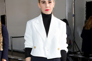 Zosia Mamet Cropped Jacket