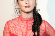 Vanessa Marano Long Braided Hairstyle