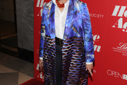 Candice Bergen Printed Coat