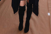 Julia Restoin-Roitfeld Over the Knee Boots