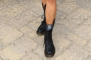 Shay Mitchell Combat Boots