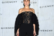 Noomi Rapace Sheer Top