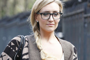 Catherine Tyldesley Long Braided Hairstyle