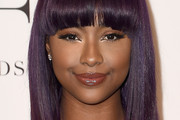 Justine Skye Medium Straight Cut with Bangs