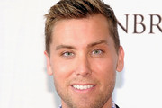 Lance Bass Short Side Part