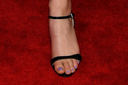 Thomasin McKenzie Strappy Sandals