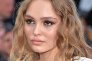 Lily-Rose Depp Long Wavy Cut