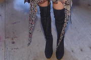 Maisie Williams Over the Knee Boots