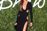 Joan Smalls Cutout Dress