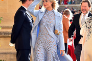 Poppy Delevingne Wool Coat