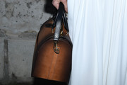 Jennifer Connelly Leather Bowler Bag