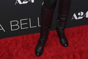 Gretchen Mol Knee High Boots