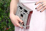 Maisie Williams Gemstone Inlaid Clutch
