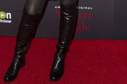 Saffron Burrows Over the Knee Boots