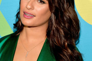 Lea Michele Long Wavy Cut