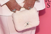 Kris Jenner Fur Purse