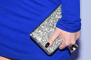 Nicola Peltz Metallic Clutch
