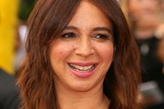 Maya Rudolph Medium Wavy Cut with Bangs