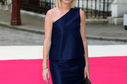 Caroline Stanbury One Shoulder Dress
