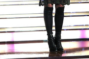 Simone Thomalla Over the Knee Boots
