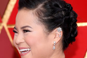 Kelly Marie Tran Hair Knots