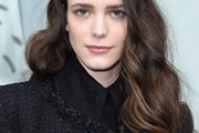 Stacy Martin Long Wavy Cut