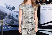Melissa Leo Print Dress