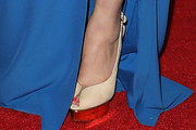Radha Mitchell Peep Toe Pumps