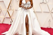 Cynthia Erivo One Shoulder Dress